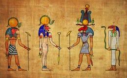 Ägyptische Gottnationalstandard-Göttin Stockfoto
