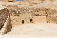 Ägyptische Gräber Lizenzfreies Stockbild
