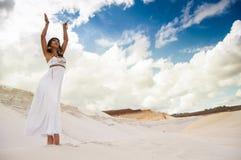 Ägyptische Königin Stockfoto