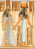 Ägyptische Königin Kleopatra stock abbildung