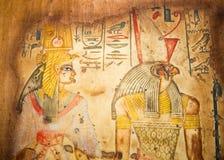 Ägyptische Kunst stockfotografie