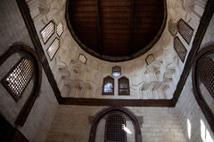 Ägyptische Moschee Windows Stockfoto