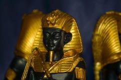 Ägyptische Pharaofigürchen Stockbild