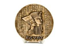 Ägyptische Platte Stockfotografie