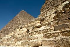 Ägyptische Pyramiden Stockfoto