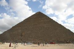 Ägyptische Pyramiden Stockfotografie