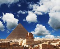 Ägyptische Sphinx Stockfotografie