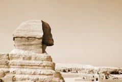 Ägyptische Sphinx in Kairo Lizenzfreie Stockfotos