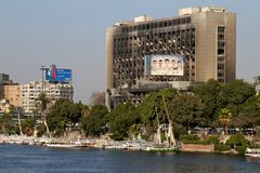 Ägyptische Umdrehung - 25. Januar 2012 Lizenzfreie Stockfotos