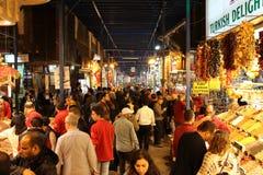 Ägyptischer Gewürz-Basar in Istanbul, die Türkei Lizenzfreies Stockfoto