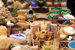 Ägyptischer Markt Stockbild