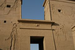 Ägyptischer Tempel Stockfotos