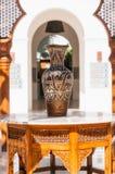 Ägyptischer Vase Stockfoto
