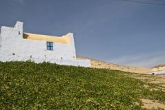 Ägyptisches Haus in Nubia Lizenzfreies Stockbild