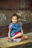 Ägyptisches Mädchen Lizenzfreies Stockfoto