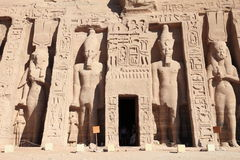 Ägyptisches Monument Lizenzfreie Stockfotos