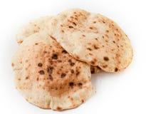 Ägyptisches orientalisches Brot Baladi Stockbilder