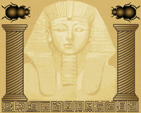 Ägyptisches Pharao Lizenzfreie Stockfotografie
