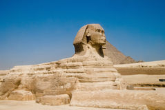 Ägyptisches sfinx bei Gizet Stockfoto
