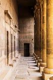 Ägyptisches temple-2 Stockbilder