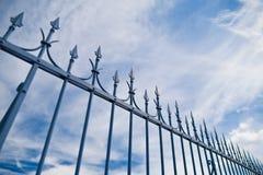 Ährentragender Zaun Stockfoto