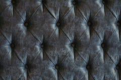 äkta läderupholstery Arkivfoton