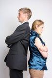 Äktenskaplig tvist Fotografering för Bildbyråer