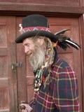 äldre excentergentleman Fotografering för Bildbyråer