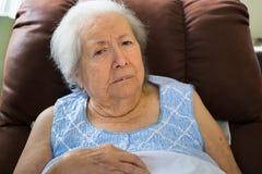 Äldre kvinna royaltyfri fotografi