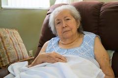 Äldre kvinna fotografering för bildbyråer