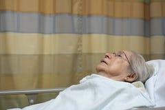 Äldre kvinna royaltyfria foton