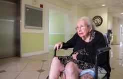 Äldre kvinna arkivbilder