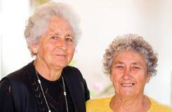 Äldre kvinnor Arkivfoton