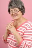 äldre lyckad kvinna arkivfoto