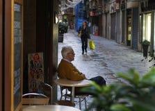 Äldre man Fotografering för Bildbyråer