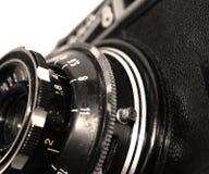 äldst kamerafragment Arkivfoto