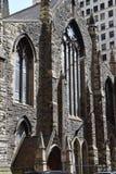 Äldst kyrka i Pittsburgh PA Royaltyfria Foton
