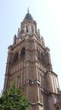 Äldsta Toledo kyrkliga Spanien Arkivbild