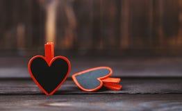 Älska begreppet för dag för moder` s och dag för valentin` s valentin Förälskelse valentin för dagvykort s Lyckliga hjärtor för d Royaltyfri Fotografi