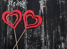 Älska begreppet för dag för moder` s och dag för valentin` s valentin Förälskelse valentin för dagvykort s Lyckliga hjärtor för d Royaltyfri Foto