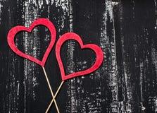 Älska begreppet för dag för moder` s och dag för valentin` s valentin Förälskelse valentin för dagvykort s Lyckliga hjärtor för d Arkivfoto