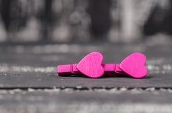 Älska begreppet för dag för moder` s och dag för valentin` s valentin Förälskelse valentin för dagvykort s Lyckliga hjärtor för d Royaltyfri Bild