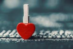 Älska begreppet för dag för moder` s och dag för valentin` s valentin Förälskelse valentin för dagvykort s Lyckliga hjärtor för d Royaltyfria Foton