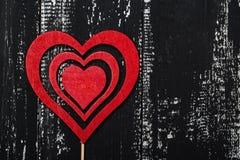 Älska begreppet för dag för moder` s och dag för valentin` s valentin Förälskelse valentin för dagvykort s Lyckliga hjärtor för d Royaltyfria Bilder