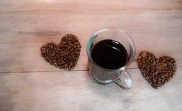 Älska det kaffe Fotografering för Bildbyråer