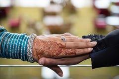 älska för händer Royaltyfri Bild