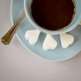 älska för kaffe Fotografering för Bildbyråer