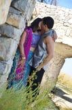 älska för kyss Fotografering för Bildbyråer