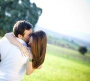 älska för par royaltyfri fotografi