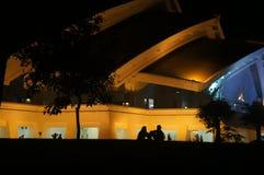 Älska i natt 1 Fotografering för Bildbyråer